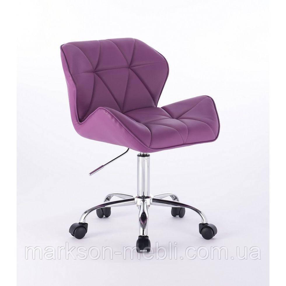 Косметичне крісло HC-111K фіолетове