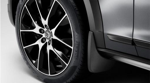Брызговики на для Volvo V90 Cross Country 2017- передние, кт. 2 шт