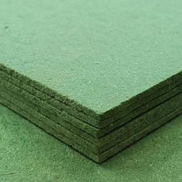 """Подложка """"тихий ход"""" толщина 3,5 мм  (под ламинат или трехслойную паркетную доску)  выравнивает поверхность по"""