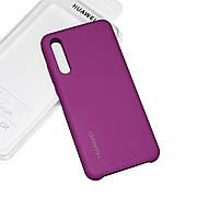 Cиликоновый чехол на Huawei P20 Pro Soft-touch Fuchsia