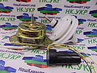 Ремкомплект для стиральной машины полуавтомат (двигатель отжима, редуктор под квадрат 9*9,конденсатор 5+10мкф), фото 1