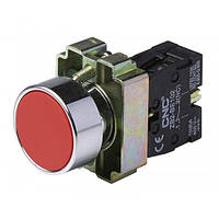 Кнопка LAY5-ВА42 червона, 22ø, NO + NC, CNC