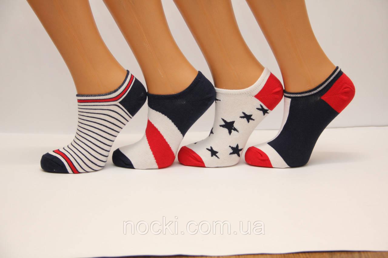 Короткие женские глубоковырезанные носки  DUCKS