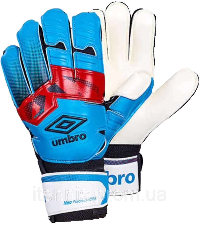 Перчатки вратарские Umbro (p.8,9,10) с защитными вставками.FB-894-3