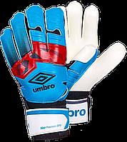 Перчатки вратарские Umbro (p.8,9,10) с защитными вставками.FB-894-3, фото 1