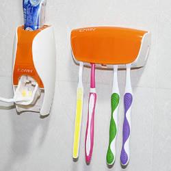 Держатель зубных щеток дозатор зубной пасты Спартак R16394