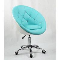 Косметическое кресло HC-8516K бирюзово-белое, фото 1