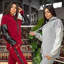 Женский теплый костюм на флисе sh-017 (42-52р, разные цвета), фото 2