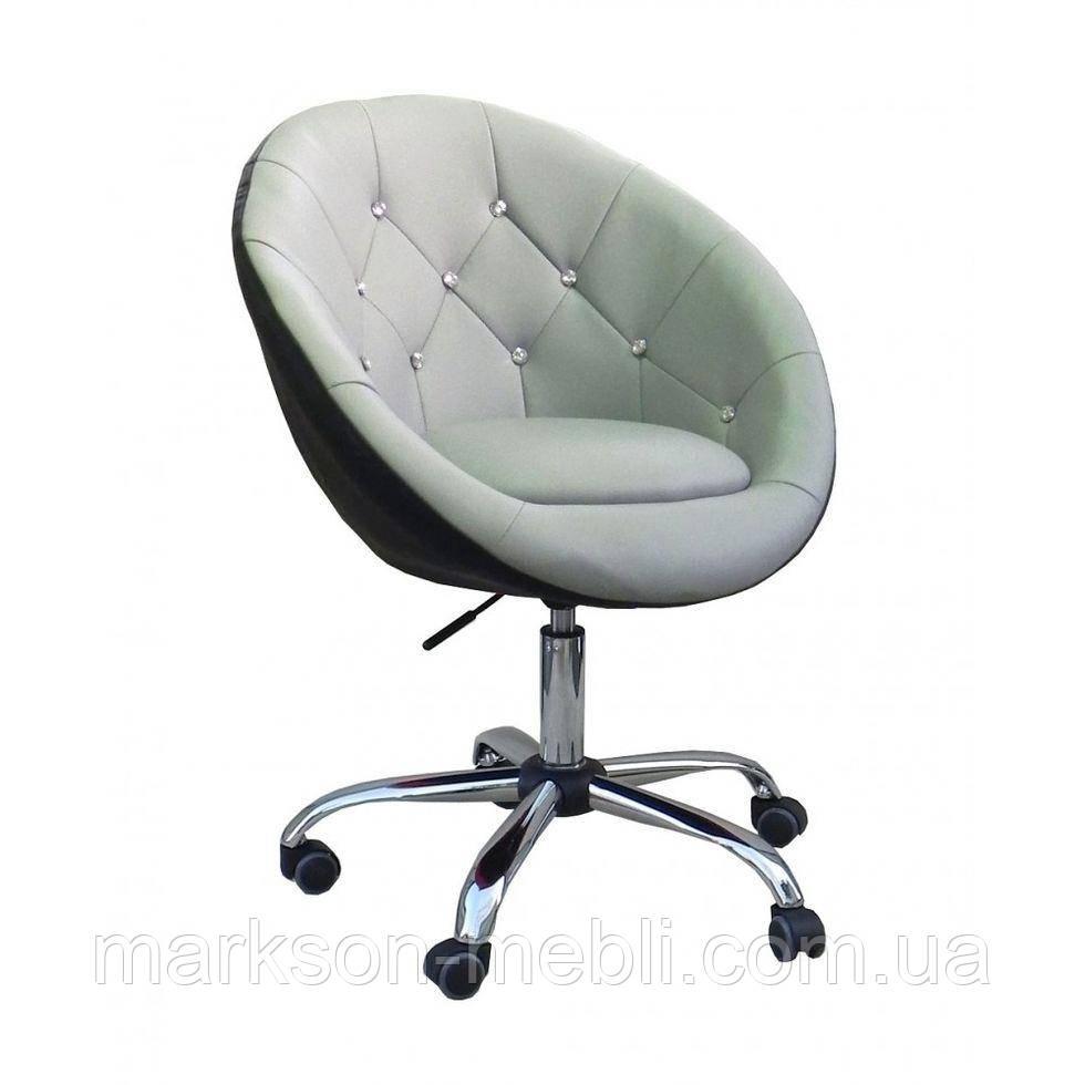 Косметичне крісло HC-8516K сіро-чорне