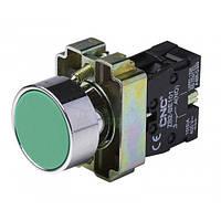 Кнопка LAY5-ВА31 зелена, 22ø, NO, CNC