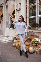 Женский теплый костюм на флисе sh-017 (42-52р, разные цвета), фото 3