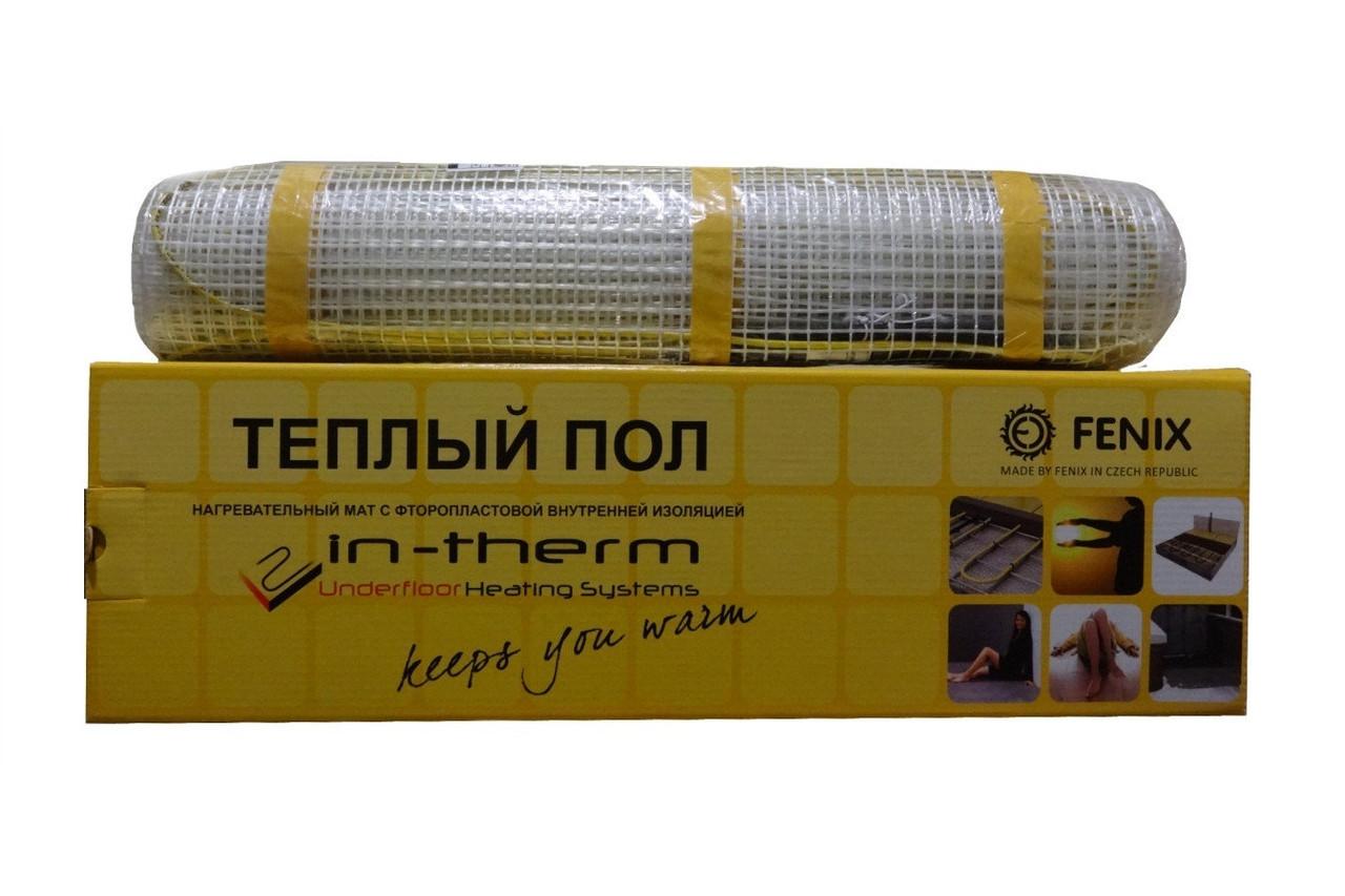 Двужильный нагревательный мат IN-THERM (Чехия). Шаг 10 см.