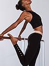 Спортивные Лосины Victoria's Secret Anytime Cotton M, Чёрный, фото 2