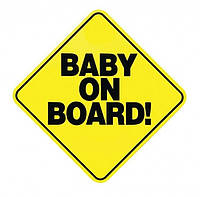 """Знак """"Baby on board"""""""