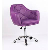 Косметическое кресло HC831K фиолетовое, фото 1