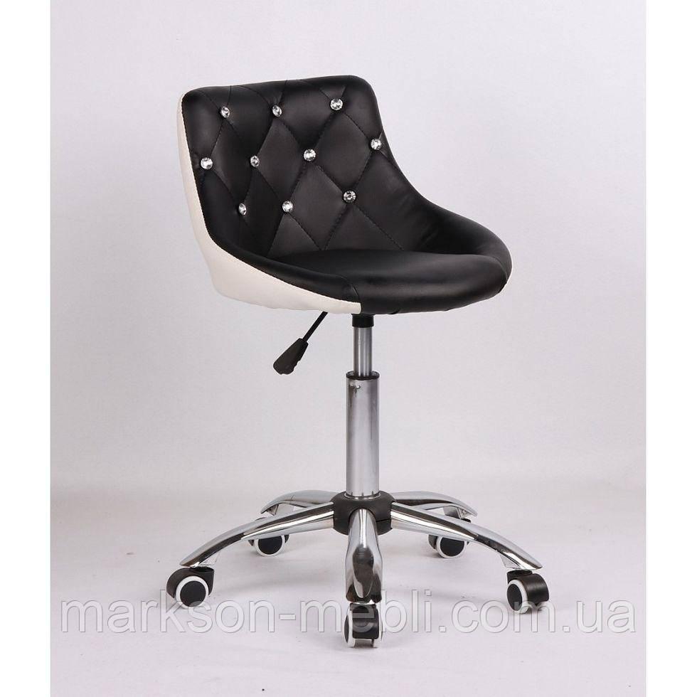 Косметическое кресло HC931K  черно-белое