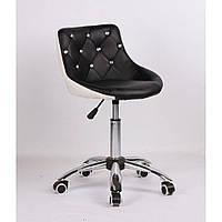 Косметическое кресло HC931K  черно-белое, фото 1