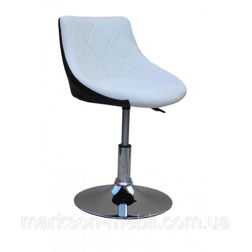 Косметическое кресло HC931N бело-черное