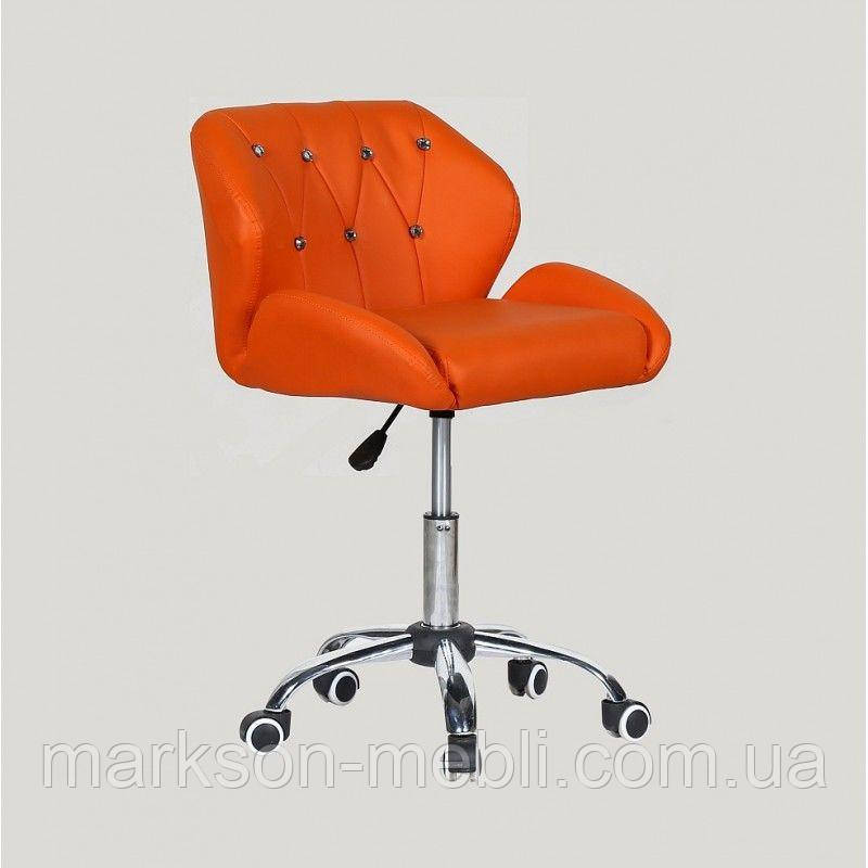 Косметичне крісло HC949K помаранчеве