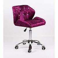 Косметическое кресло HC949K фиолетовое велюр, фото 1