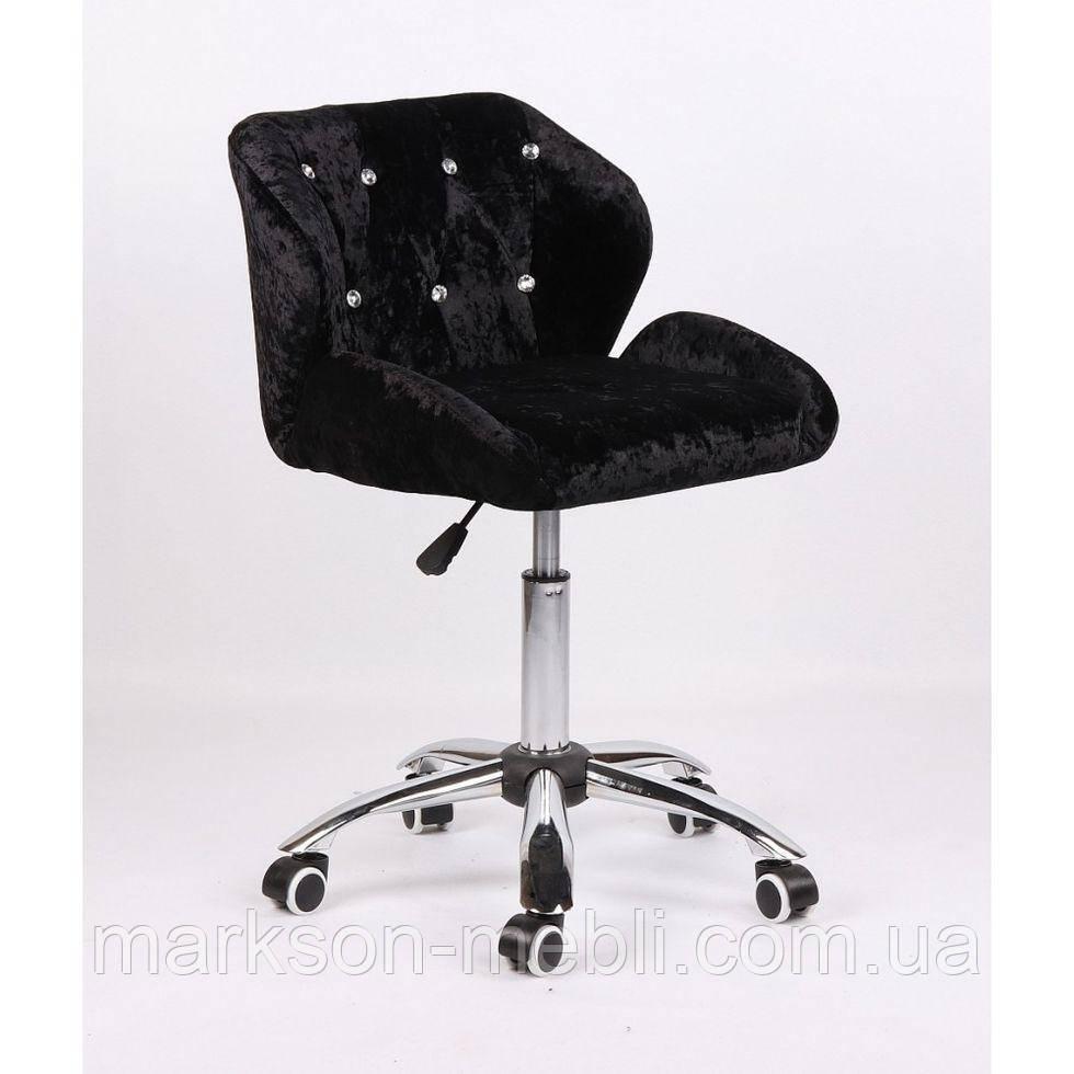 Косметическое кресло HC949K черное велюр