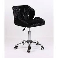 Косметическое кресло HC949K черное велюр, фото 1