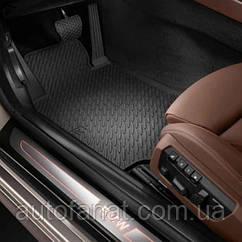 Комплект оригинальных ковриков салона BMW 6 (F12, F13) (51472163801 / 51472163803)
