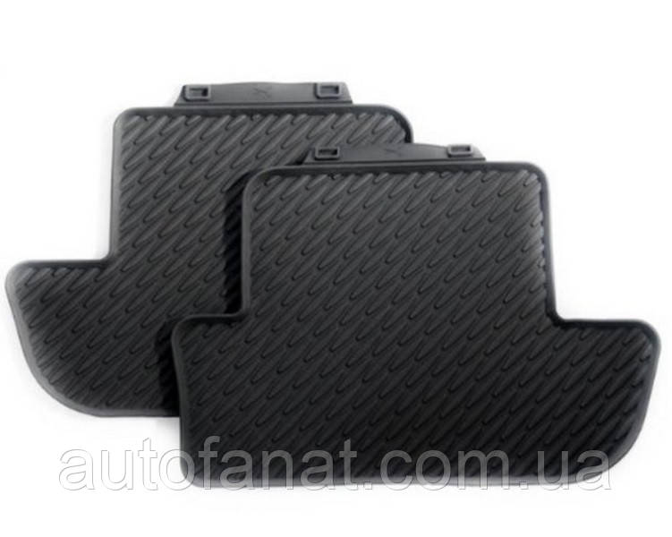 Комплект оригінальних килимків салону BMW 6 (F12, F13) (51472163801 / 51472163803)