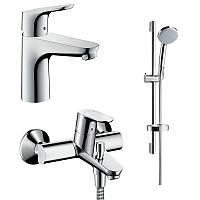 Hansgrohe Focus 31940111 набор смесителей для ванны