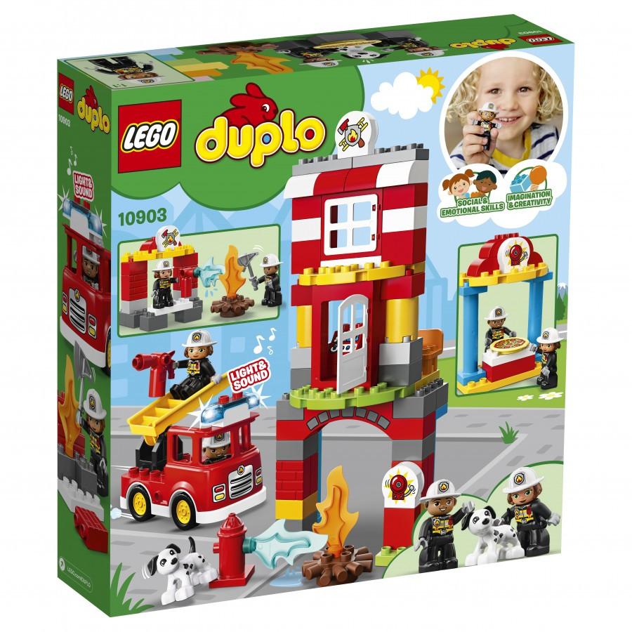 Lego Duplo Пожарное депо 10903