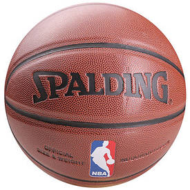 Мяч баскетбольный Spalding №7 PU NBA SP-005PU-7