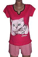 Пижамки женские с шортами