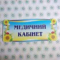 Табличка Медицинский кабинет