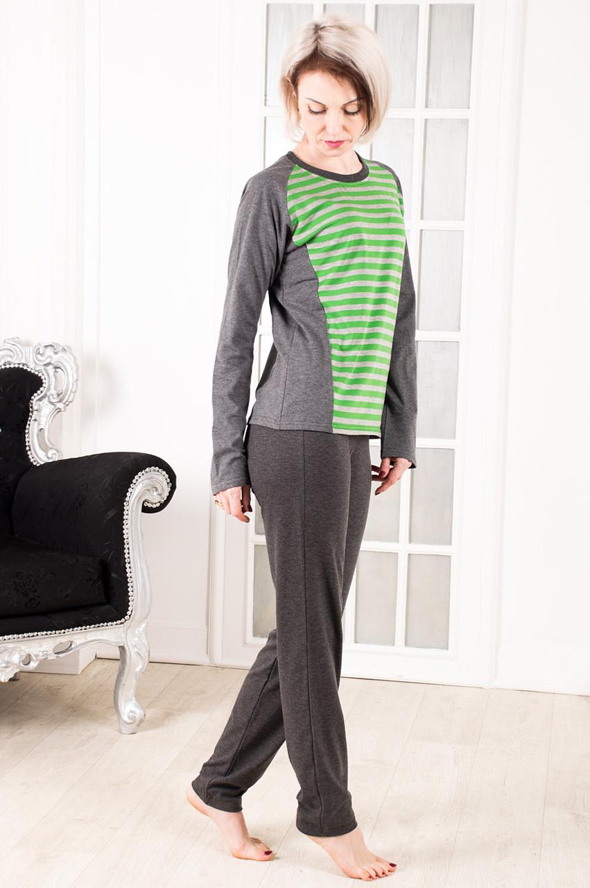 Пижама женская в полоску размеры 40-46
