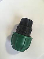 Муфта с наружной резьбой  25*1 Irritec для автоматичного полива