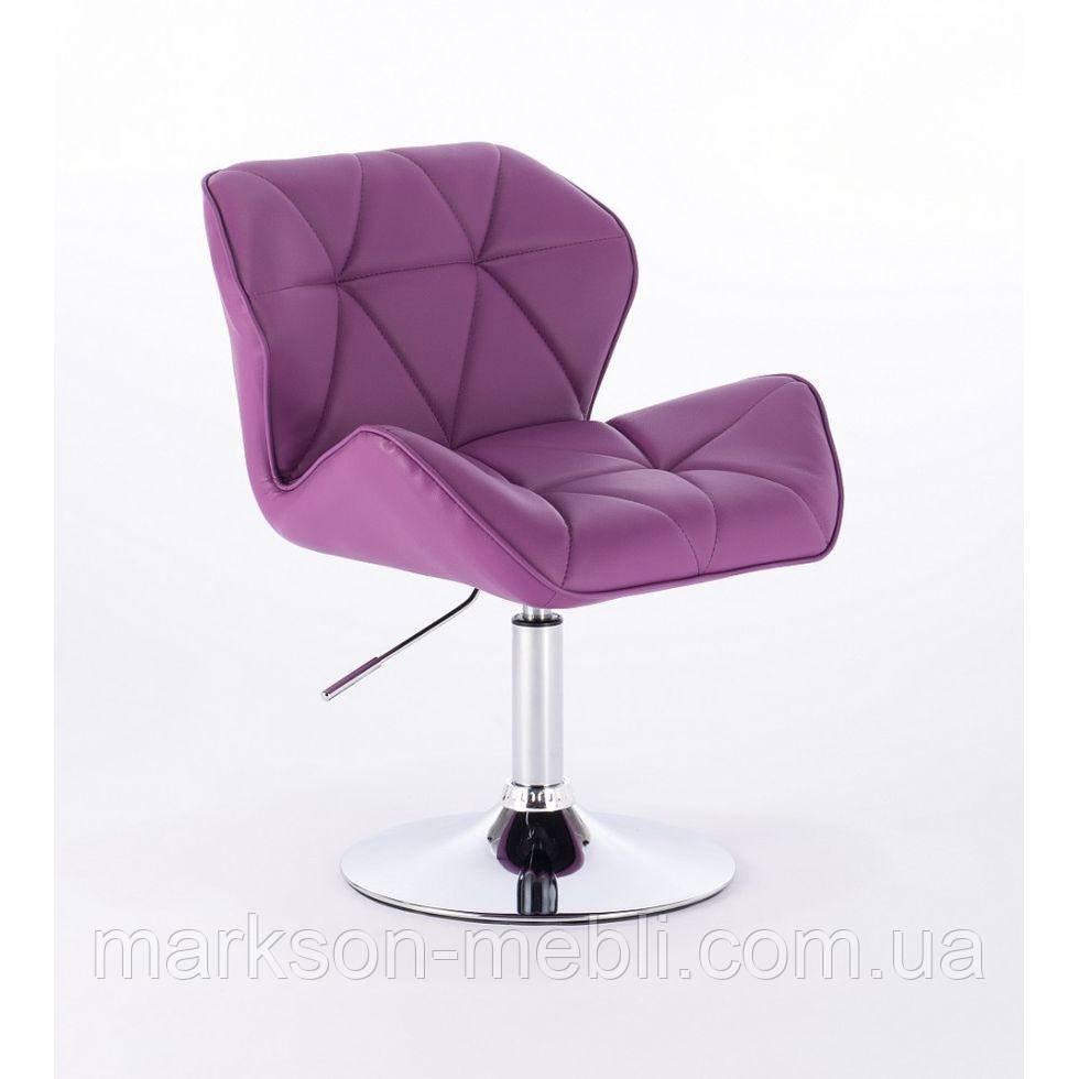 Кресло косметическое HC-111N фиолетовое