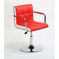 Кресло косметическое HC-811N красное, фото 1