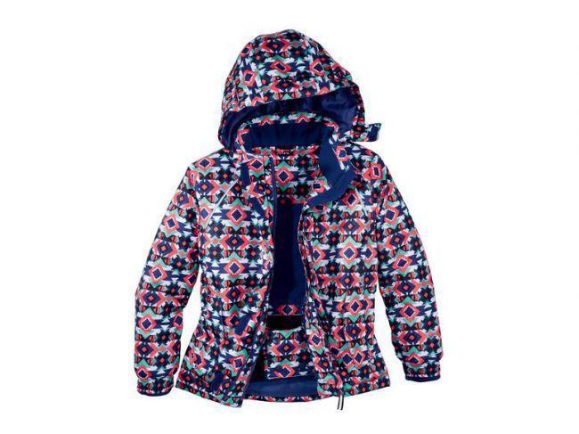 Лыжная термокуртка для девочки разноцветная Crivit  р.158/164см