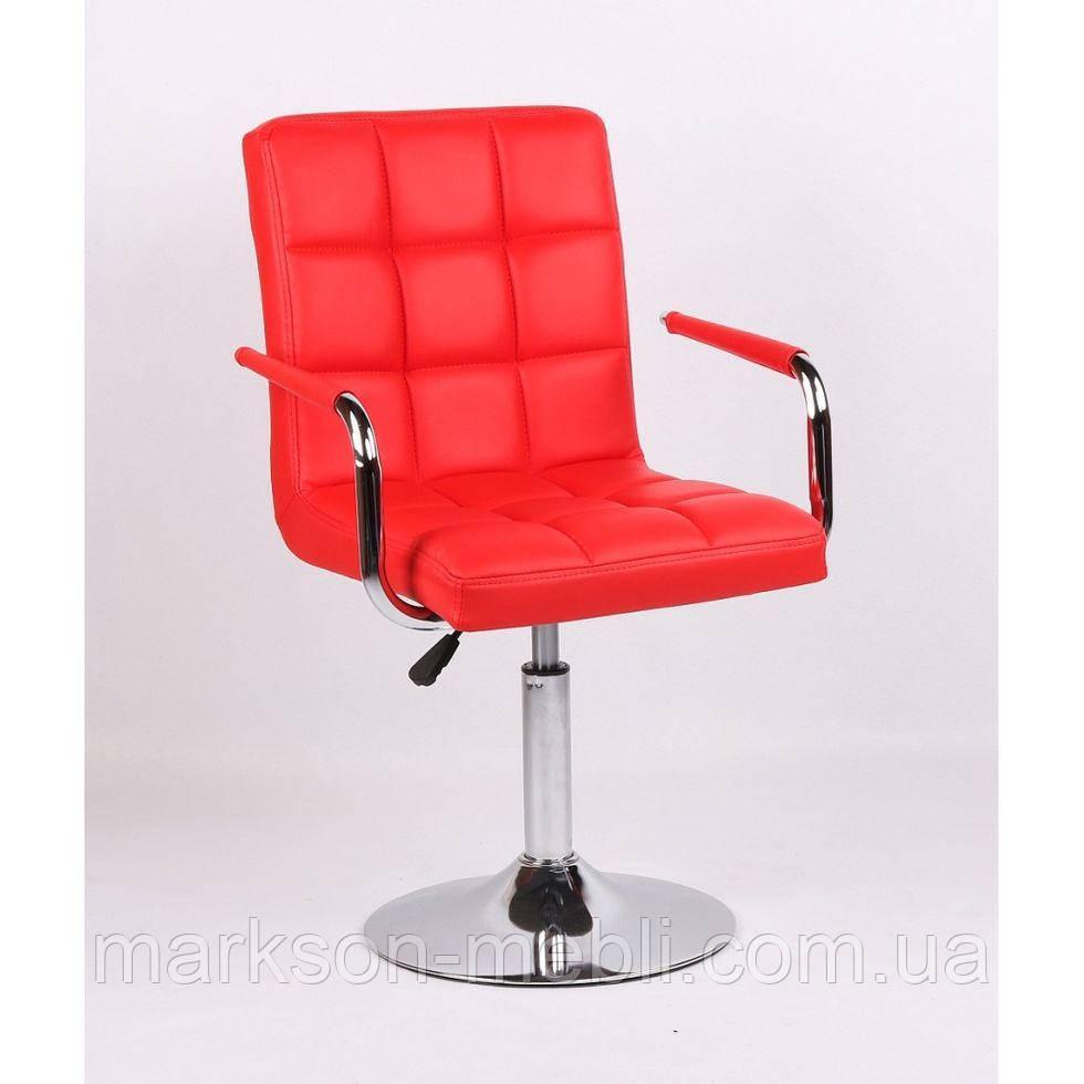 Кресло косметическое HC1015NP красное