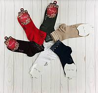 Носки женские хлопчато-бумажные, 100% cotton, фото 1