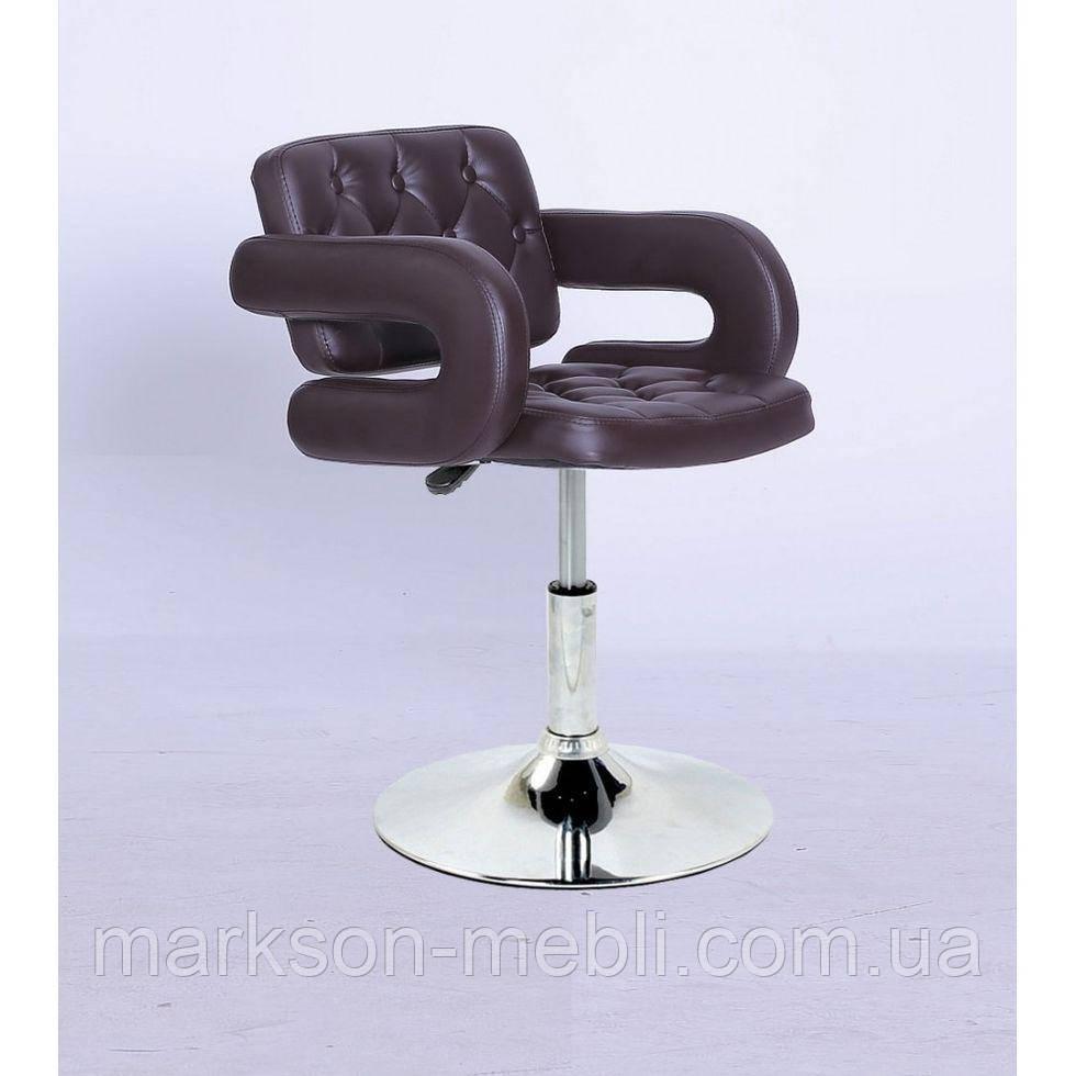 Крісло косметичне HC8403N коричневе