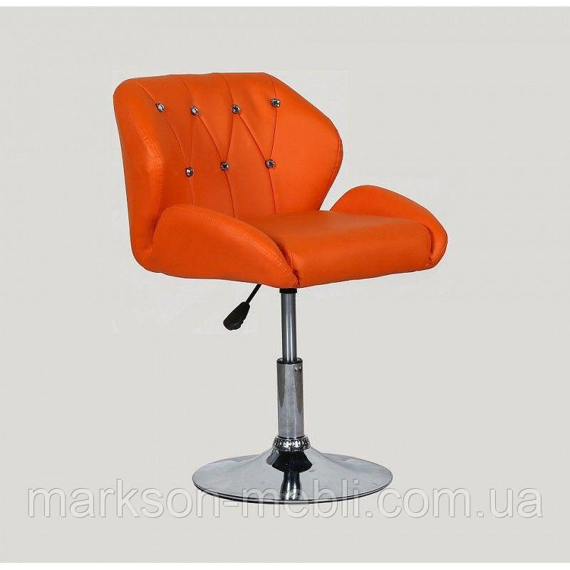 Кресло косметическое HC949N оранжевое