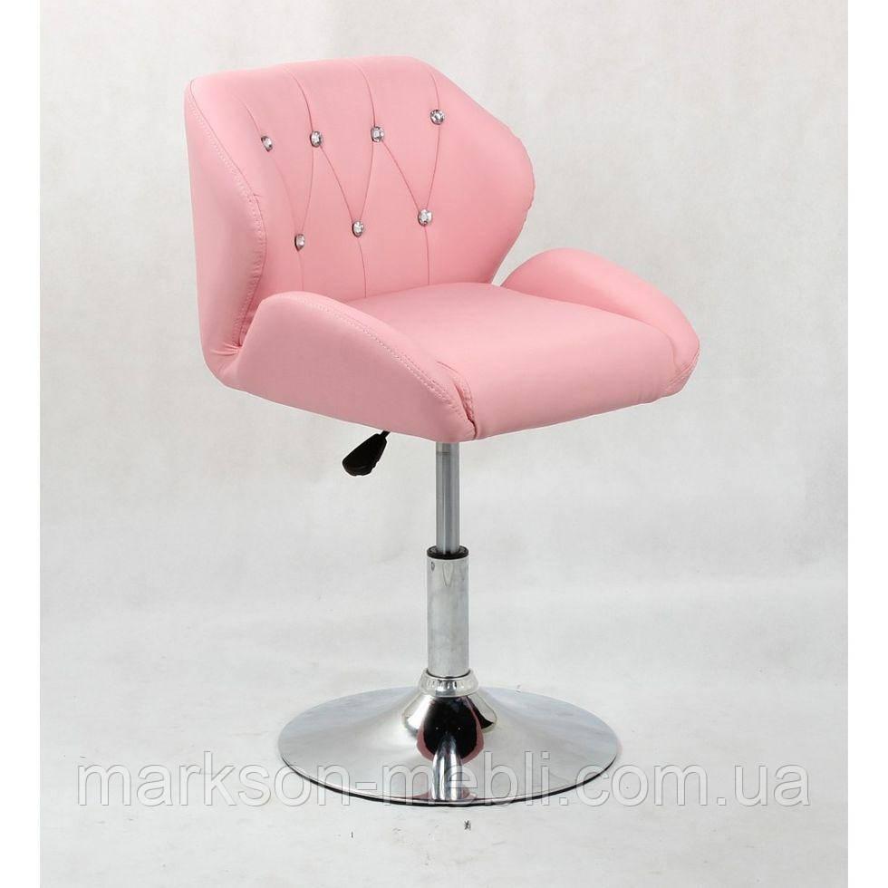 Кресло косметическое HC949N розовое