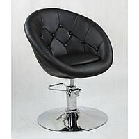 Кресло парикмахерское HC-8516H черное, фото 1