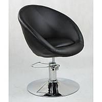 Кресло парикмахерское HC-8516H черное ГИДРАВЛИКА, фото 1