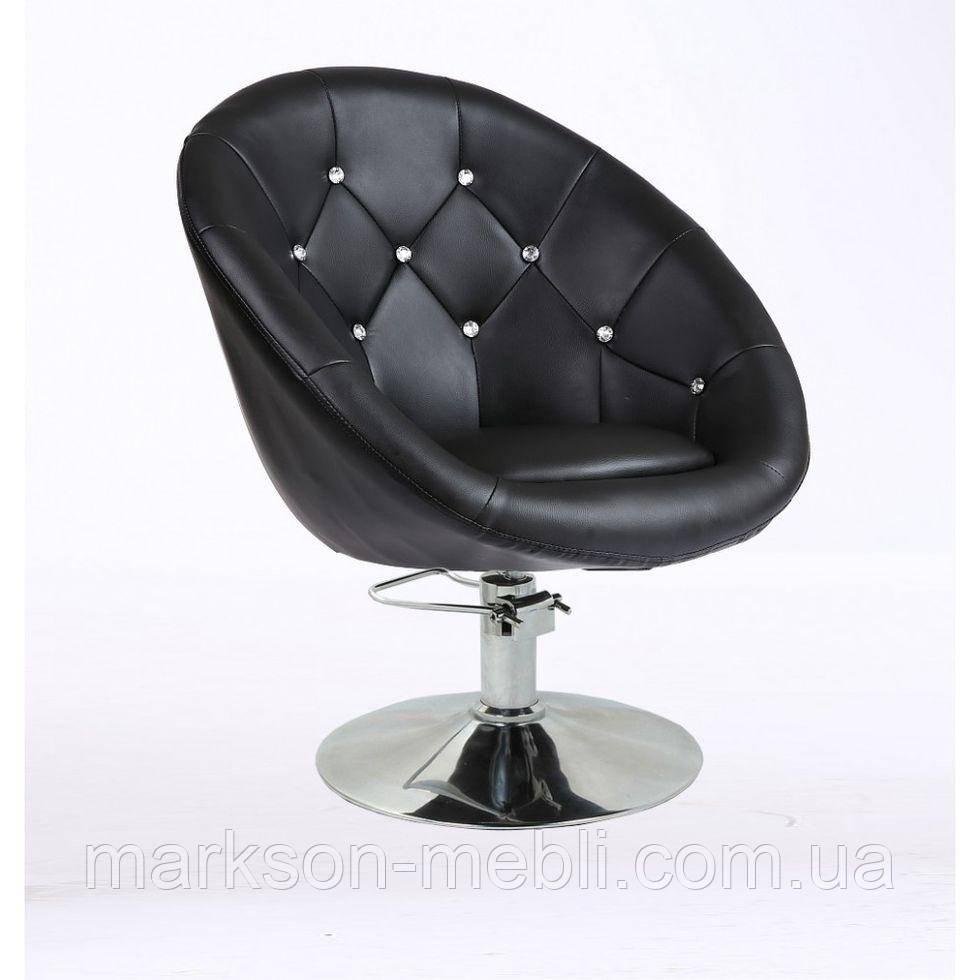 Кресло парикмахерское HC-8516СH черное