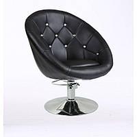 Кресло парикмахерское HC-8516СH черное, фото 1