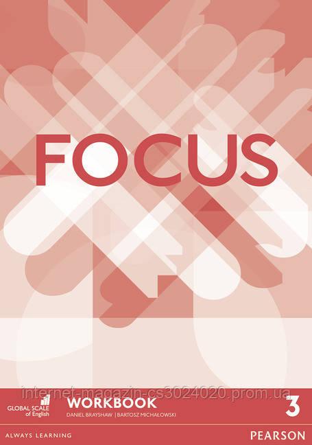 Focus BrE Level 3 Workbook ISBN: 9781447998174