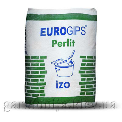Шпаклевка EUROGIPS Perlit IZO гипсо-перлитовая, 25 кг