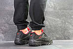 Мужские кроссовки Merrell (черно-красные) весна-осень, фото 4